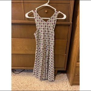 Patterned Casual Sleeveless Summer Dress
